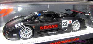 【Ma】SP☆1/43 S3575 ニッサン Nissan R390 GT1 No.23 Pre-Qualifications 24H Le Mans 1997K. Hoshino - E. Comas - M. Kageyama