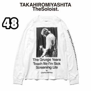 【新品】TAKAHIRO MIYASHITA The Soloist. × Charles Peterson 長袖 Tシャツ カート・コバーン 48(M) タカヒロミヤシタザソロイスト ロンT