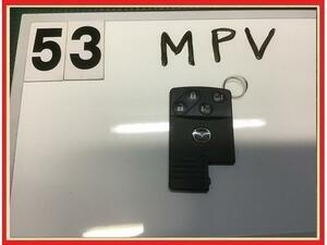 【送料無料】LY3P MPV 前期 純正 スマートキー/キーレス/リモコンキー 両側パワスラ用 予備/スペアなどにも♪