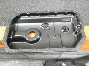 A8 A7 A6 CGW エンジン オイルパン 中古品