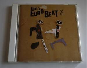 (送料無料 中古CD)ザッツ・ユーロビート VOL.26 (全13曲) ALFA