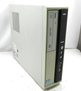 ◆NEC Mate MJ33LL-F Core i3 3220 3.3GHz 4GB 250GB DVDマルチ Windows10 Pro 64bit