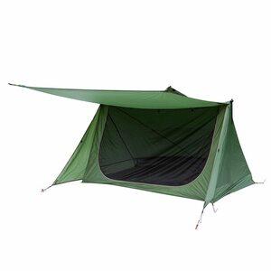 3季節 バックウッズ 超軽量 シェルター ベイカースタイル ブッシュクラフト サバイバル ハイキング 緑 テント キャンプ アウトドア