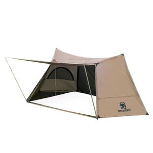 ソロ ホームステッド シングル シェルター ポール ブッシュクラフト サバイバル 狩猟 ハイキング 茶 テント キャンプ アウトドア