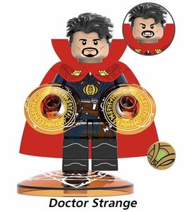 1体 ドクター・フー マーベル アベンジャーズ ミニフィグ LEGO 互換 ブロック ミニフィギュア レゴ 互換 k