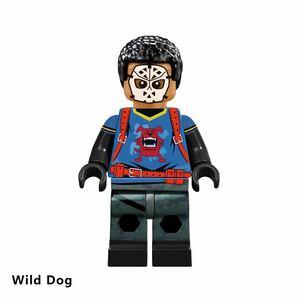 1体 ムービー ワイルド・ドッグ dcコミック ミニフィグ LEGO 互換 ブロック ミニフィギュア レゴ 互換 k