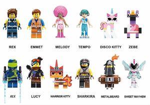 翌日発送 エミット ルーシー sweet mayhem ミニフィグ ムービー 12体セット ミニフィグ ブロック LEGO レゴ 互換 ミニフィギュア L