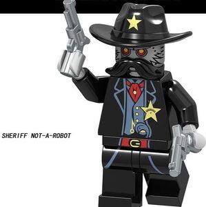 1体 sgeriff ムービー ミニフィグ LEGO 互換 ブロック ミニフィギュア レゴ 互換 k
