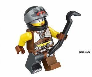 1体 sharkira ムービー ミニフィグ LEGO 互換 ブロック ミニフィギュア レゴ 互換 k