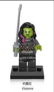 1体 シー・ハルク マーベル アベンジャーズ ミニフィグ LEGO 互換 ブロック ミニフィギュア レゴ 互換 k-09