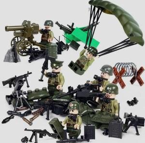 アメリカ軍 武器つきセット 戦争軍人軍隊マンミニフィグ LEGO 互換 ブロック ミニフィギュア レゴ 互換t06