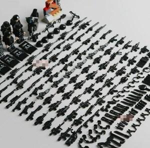 警察8体 車両武器つきセット 戦争軍人軍隊マンミニフィグ LEGO 互換 ブロック ミニフィギュア レゴ 互換t24