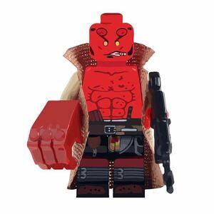 1体 ムービー ヘルボーイ ミニフィグ LEGO 互換 ブロック ミニフィギュア レゴ 互換 k