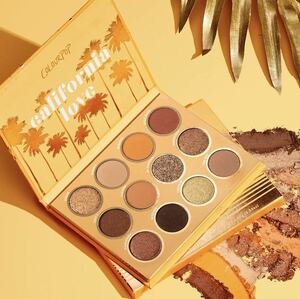 Colour Pop california love shadow palette カラーポップ カリフォルニア アイシャドウ パレット