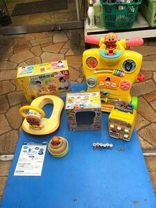 ◯C7059 アンパンマン 自販機 知育玩具 おもちゃ 4点セット◯