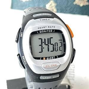 TIMEX タイメックス 腕時計 ハートレートモニター 心拍計 INDIGLO デジタル 稼動品 W1823