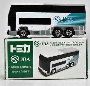 トミカ 1/154 日本馬匹輸送自動車(株) 競走馬専用運搬車 JRA サンタ特注★3137-19