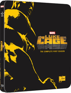 ●新品 マーベル / ルーク・ケイジ シーズン1 COMPLETE BOX スチールブック Blu-ray