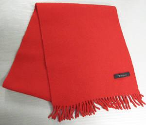 ワイズ フォーメン ヨウジヤマモト * マフラー 赤 ( ニット Y's for Men Yohji Yamamoto Knit Scarf Red