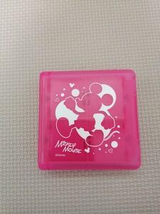 任天堂DSカードケース/ミッキーマウス