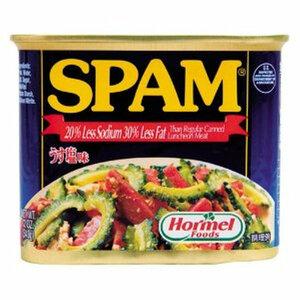 【即決】スパム ポーク うす塩 24缶