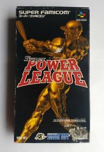 * スーパーファミコン ゲーム スーパーパワーリーグ SHVC-M3