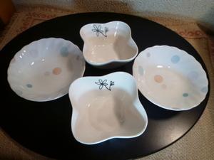 可愛い小鉢4個セット・新品・未使用・展示品