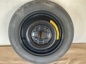スペアタイヤ / 12×3.0/ T105/90D12/4H/100 / テンパータイヤ