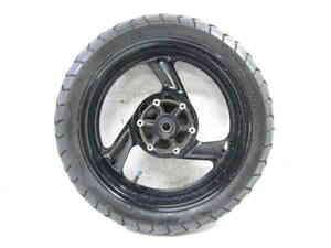 ZEXT TRX850 4NX タイヤ付 純正 リアホイール 曲りなし 検※ ヤマハ RN03J TDM850 TDM900 4SV YZF750R SP FZR1000 ブレンボ 74L07