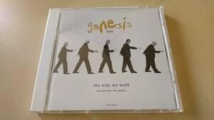 GENESIS ジェネシス『LIVE / THE WAY WE TALK/ザ・シングル・ヒッツ・コレクション~ライヴ前編』