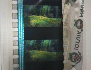 ジブリ美術館 アリエッティ ブックマーカー ポストカード  フィルムビューワー