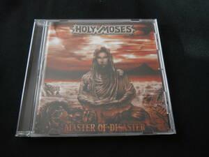 HOLY MOSES ホーリー・モーゼス / Master of Disaster リマスター盤(ボーナストラック有/エンハンスド仕様) 輸入盤 CD スラッシュメタル