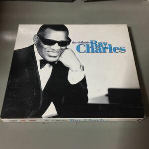 レイ・チャールズ the definitive ray charles ドイツ盤2枚組CD【日本解説付き】