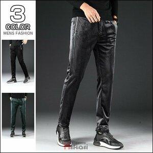 ロングパンツ メンズ パンツ テーパードパンツ スリムパンツ パンツ コーデュロイパンツ メンズ テーパードパンツ カジュアルパンツ スト