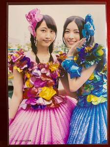 AKB48 生写真 店舗特典  心のプラカード 松井玲奈 松井珠理奈 SKE48 HMV