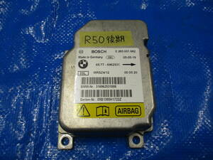 *BMW MINI Mini R50 RA16 latter term air bag computer sensor warning light. lighting . breakdown code is not letter pack post service shipping. *