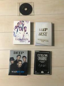 DEEP 初回限定DVDセット3枚 COLORおまけDVD
