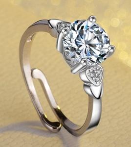 ダイヤモンド リング 新品 ,。; 高純度 7石 愛い 真の輝き 通常価格5万 即決 選べるサイズ 指輪 39 #プラチナ仕上#