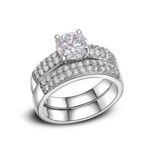 ダイヤモンド リング 2点 ■極上逸品■ 新品 ;;'、' 高純度 最安 真の輝き 通常価格5万 即決 選べるサイズ 指輪 31#プラチナ仕上#
