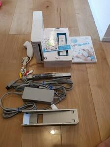 任天堂 Wiiホワイト初めてでも直ぐに遊べるセット