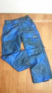VOLCOM L размер   Градация   сноуборд  Ware   брюки   синий  tj6 2