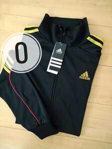 新品 メンズO XL adidas アディダス ジャージ 上のみ 長袖 ブラック ゴールド レトロデザイン スポーツ トレーニング 男性