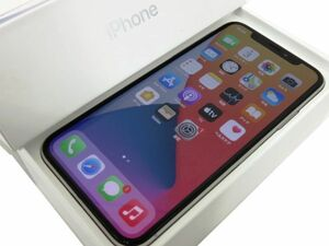111s●SIM解除品 iPhoneX NQAY2J/A 64GB シルバー 本体 バッテリー89% ※中古/交換品/利用〇