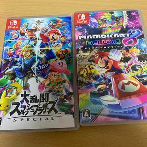【Switch】 大乱闘スマッシュブラザーズ SPECIAL 【Switch】 マリオカート8 デラックス