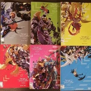 DVD デジモンアドベンチャー tri. 全巻セット 全6巻