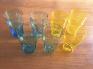 KINTO グラス タンブラー うすはり 7セット