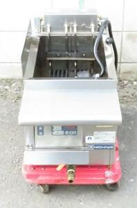 【保証付/中国語可】2017年製ニチワ電機・業務用卓上電気フライヤー TEFD-13NSP 幅350×奥760×高355(+85mm) 13L 三相200V MT2102120319