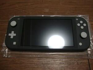 ★ 送料込 Nintendo Switch Lite グレー ニンテンドースイッチ ライト HDH-S-GAZAA ★