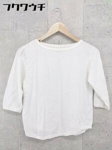 ◇ BEAMS BOY ビームス ボーイ 長袖 Tシャツ カットソー ホワイト レディース