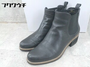 ■ ◎ YOSUKE ヨースケ サイドゴア ショート ブーツ サイズ36 ブラック レディース